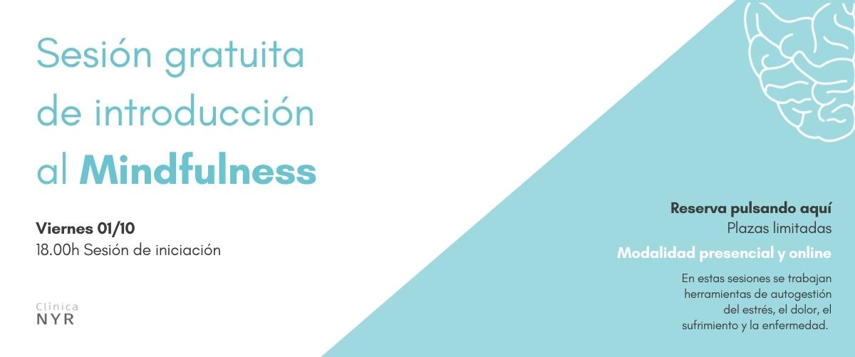 Sesión gratis de Mindfulness Valencia